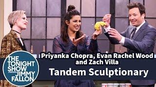 Tandem Sculptionary with Priyanka Chopra, Evan Rachel Wood and Zach Villa