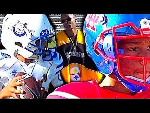 🔥🔥  Snoop Youth Football League   11U  Carson ' White House' Colts vs Los Alamitos - 2017