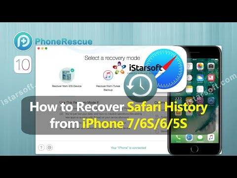 How to Recover Safari History from iPhone 7/6S/6/5S with iOS 10