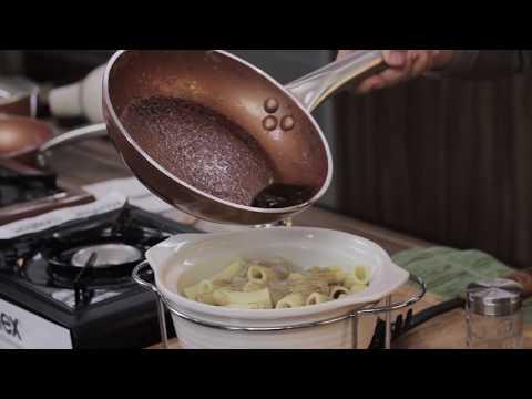 Graduation Pop-up Party Part 2 – Pasta Rigatoni with Burnt Butter