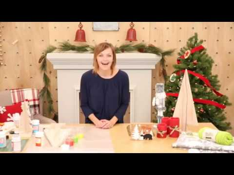 Create a Holiday Mantle with Anna