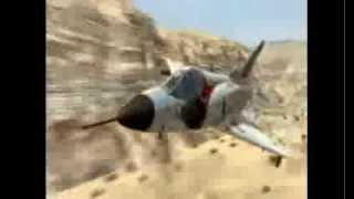 Epic dog fight! Israeli Air Force -  Mirage vs Hunter.