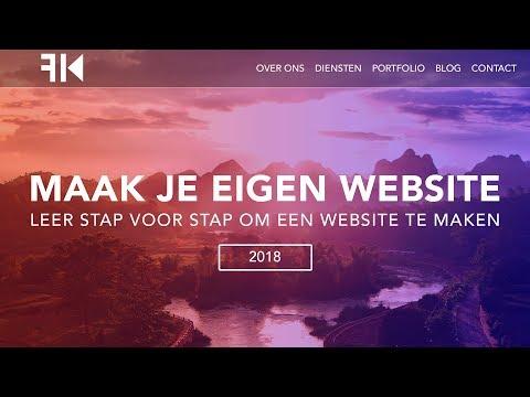 Hoe Maak Je Een Wordpress Website | Dutch Tutorial