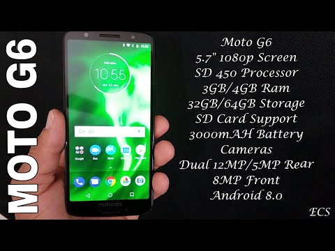 Moto G6 First Impression 2018 | New Design, Great Cameras, Cheap Price.