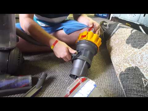 Dyson ball multifloor canister clean out