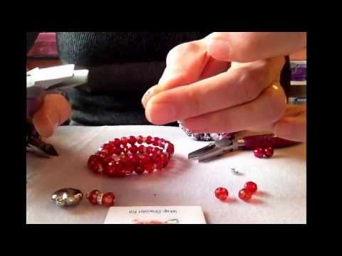 How to make a Wrap Around Bracelet using memory wire.