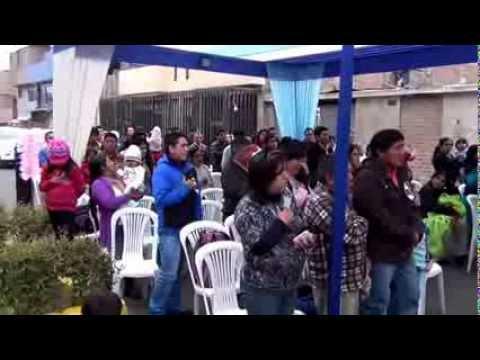 Father's day at Peruvian school Rayito de Sol