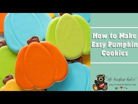 How to Make Easy Pumpkin Cookies | The Bearfoot Baker
