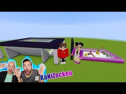 KAANS FUSSBALL STADION vs NINAS STADION! Welches ist besser gebaut? Minecraft Build Battle