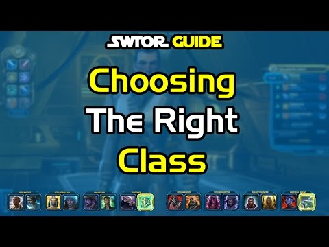 SWTOR Beginners Guide - Choosing The Right Class