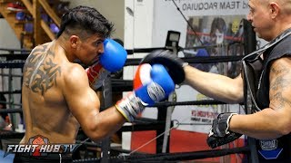 VICTOR ORTIZ STILL HAS SPEED & POWER! READY FOR RING RETURN AFTER MORE THAN YEAR LAYOFF