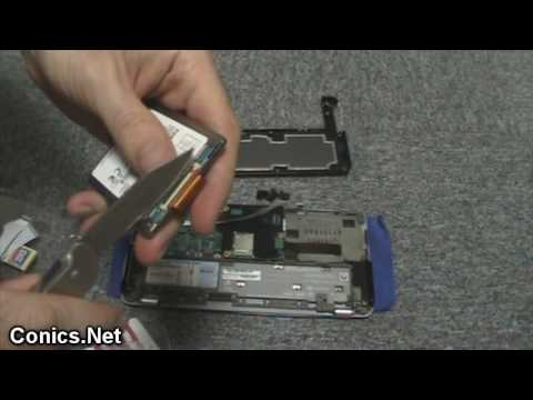 Open up the Sony Vaio VGN-P90, HDD to RunCore Pro iV ZIF SSD upgrade