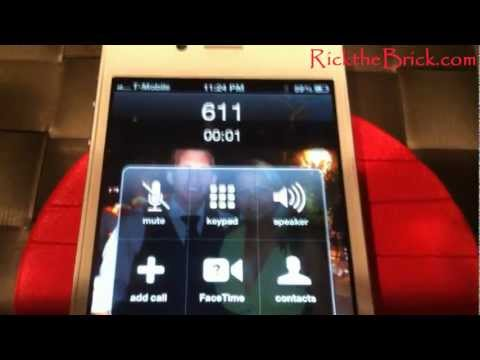 Factory Unlocked Iphone Test Call And Testing Internet