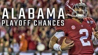 How Alabama Can Still Make the Playoffs
