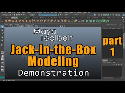 The Maya Toolbelt - Modeling a Jack-in-the-Box - Part 1