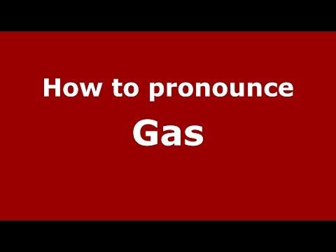 How to pronounce Gas (American English/US) - PronounceNames.com