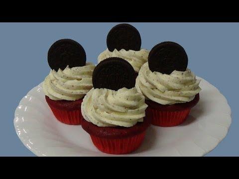 easy oreo red velvet cupcakes