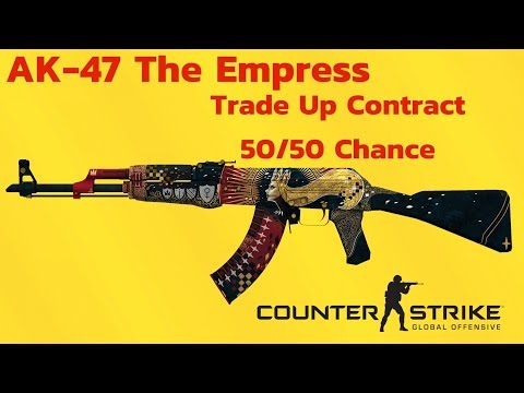 Factory New AK-47 The Empress 50/50 Trade Up Contract