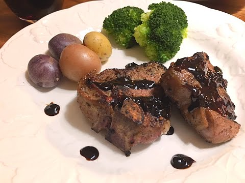 Lamb Chops with Balsamic & Red Wine Reduction Recipe - An Elegant Flavorful Dish - Episode #208