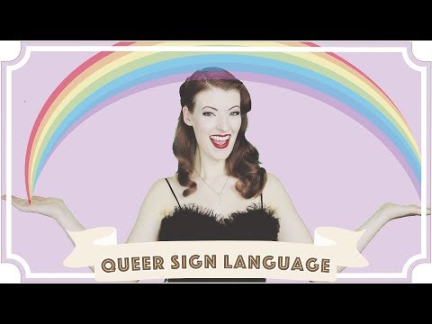 Queer Sign Language // Jessica Out Of The Closet