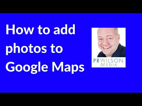How to add photos  to Google Maps