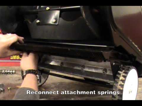Replacing the Scraper Blade - Toro Single Stage Snow Blower