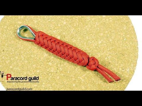 2 strand herringbone key fob