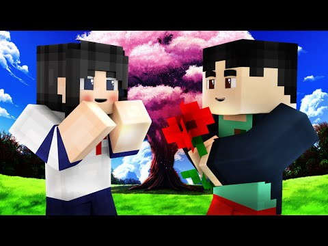 Yandere Middle School - FIRST DATE! (Minecraft Roleplay) #10