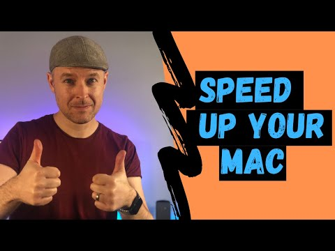 How to speed up your Mac running macOS Sierra 10.12 |  | VIDEO TUTORIAL