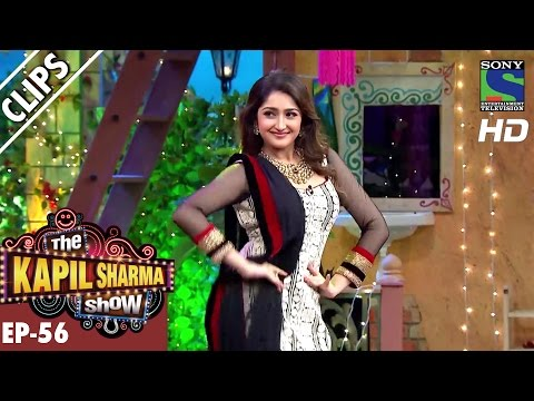 Xxx Mp4 Kapil Dances With Sayyeshaa Saigal The Kapil Sharma Show Ep 56 30th Oct 2016 3gp Sex