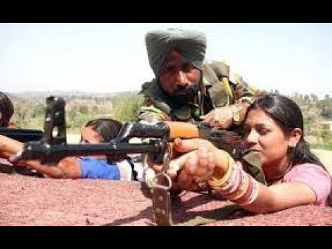 Training of girls in Indian ALL Police Force Crpf,Itbp,Bsf