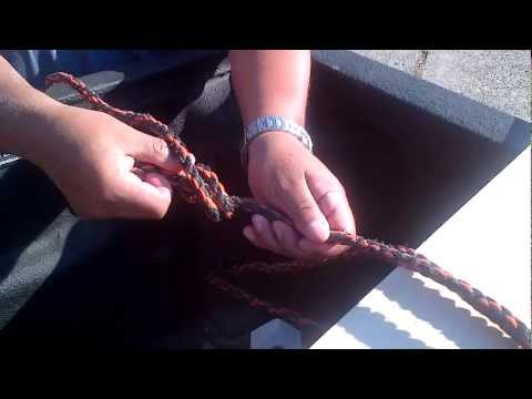 EASY! Tie Down Rope Knots