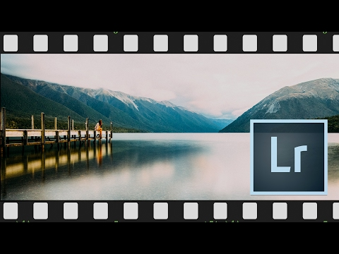 Using Lightroom Presets to make a Cool Film Look