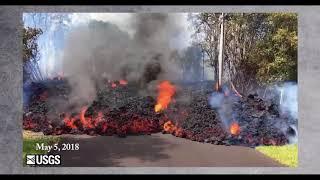 Kilauea Volcano Eruption May 2018