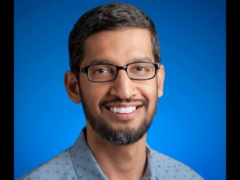 India Goes Mobile First with Sundar Pichai