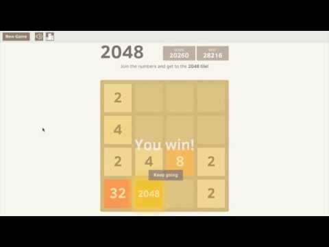 TimeLapse: Get to the 2048 Tile!