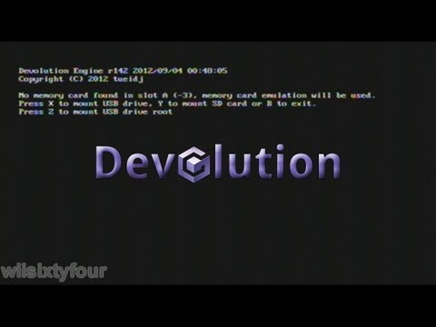 Devolution MOD - Gamecube USB Loader Straight from CleanRip