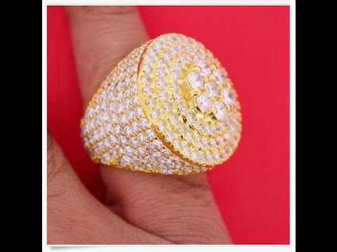 Diamond Pinky Rings for Mens UK