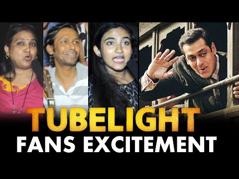 Salman Khan's FANS Super Excited For TUBELIGHT | Public Reaction