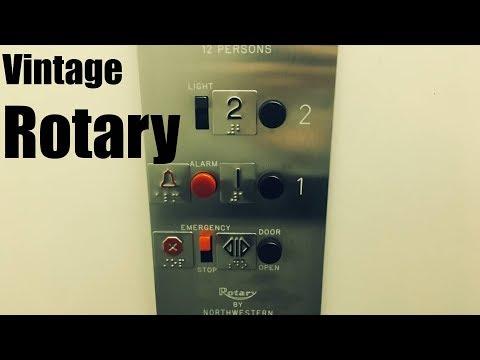 Vintage 1961 Rotary Hydraulic Elevator @ The Berkley Building - Whitefish Bay, WI