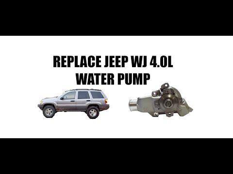 Jeep 4.0 Water Pump Install