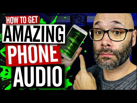 How To Record Better Sound and Phone Recordings With Your Smartphone Using The Rode VideoMic Me