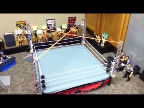 How To Make A TNA Ultimate X Structure For A WWE Elite Scale Ring