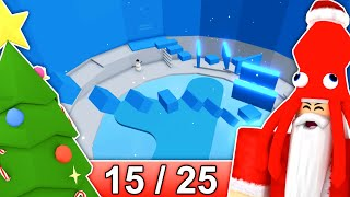 [15/25] CHRISTMAS STAGES in Tower of Hell... | Roblox