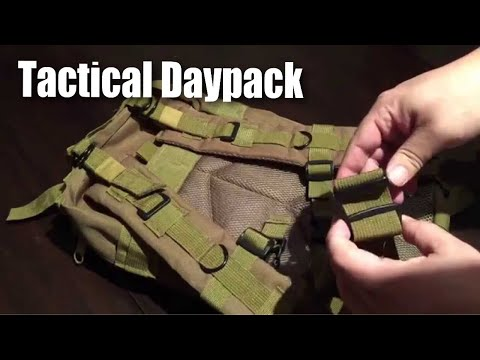 30L (but more like 20L), tactical or military style, molle bag, 600D nylon backpack review