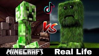 #93 Tik Tok Minecraft - Minecraft Trong Game Và Đời Thực Khác Nhau Như Thế Nào ???