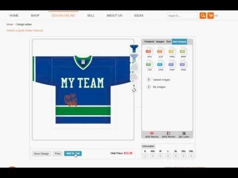 Design Hockey Jerseys