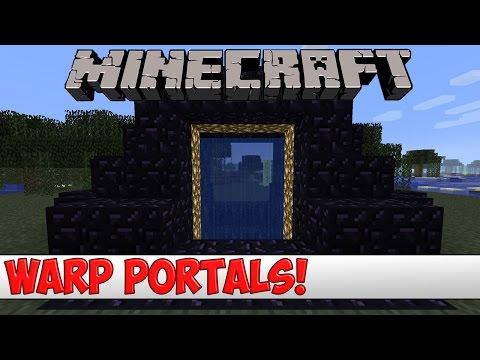 Minecraft Plugin Tutorial - Warp Portals