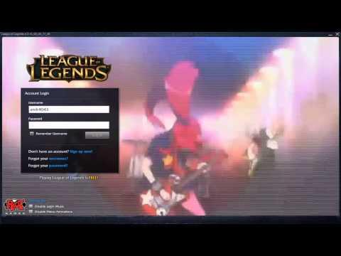 When I Am Bored - Custom Login Screen League of Legends