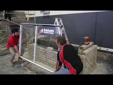 How to Install an Aluminium Sliding Window into Double Brick Construction